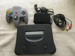Nintendo 64 N64 Game Console System + Controller Cords WORKI