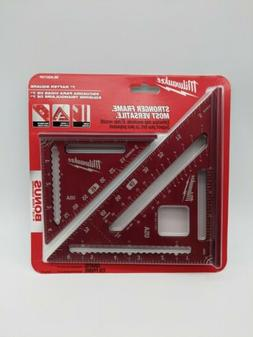 Milwaukee 7 inch Rafter Square  and 4 1/2 Trim Square