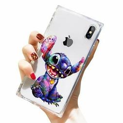 DISNEY COLLECTION iPhone Xs Case iPhone X Case Square Clear