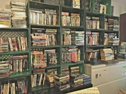 Lots of $1.50 DVDS. 1500+ A-Titles to choose from. Action, C