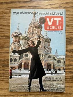 NY METRO TV GUIDE JUNE 26 - JULY 2 1976  MARY TYLER MOORE In