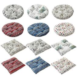 Round Square Chair Pad Patio Cushion Washable Seat Garden Ma